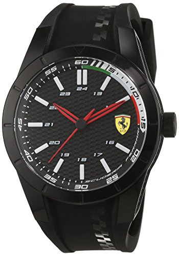 Scuderia Ferrari Orologi Red Rev Analog Quarz Silikon 0830301