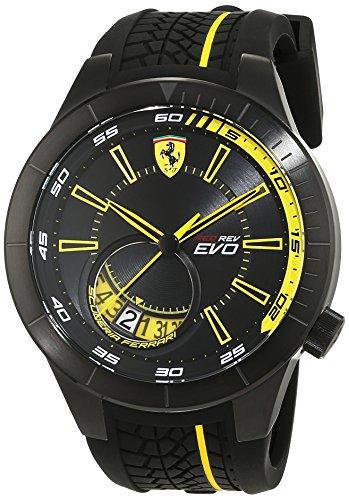 Scuderia Ferrari Orologi Herren Armbanduhr REDREV EVO Analog Quarz Silikon 0830340