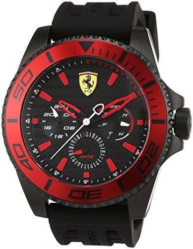 Scuderia Ferrari Orologi Herren Armbanduhr XX Kers Multi Analog Quarz Silikon 0830310
