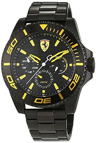 Scuderia Ferrari Orologi Herren Armbanduhr XX Kers Multi Analog Quarz Edelstahl beschichtet 0830309