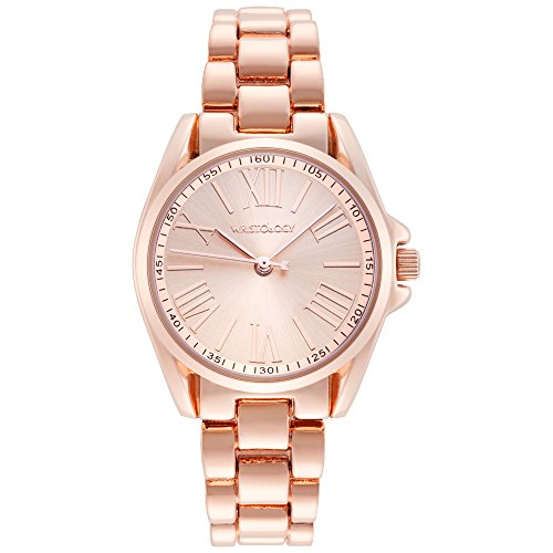 wristology Lilly Damen klein Rose Gold Freund Metall Armbanduhr