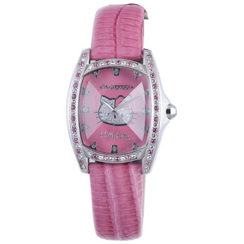 Hello Kitty Pink Stainless Steel Watch
