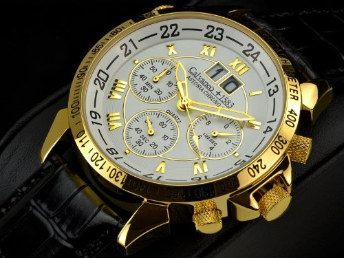 Calvaneo 1583 Astonia Chrono One Gold Edition Bigdate Chronograph