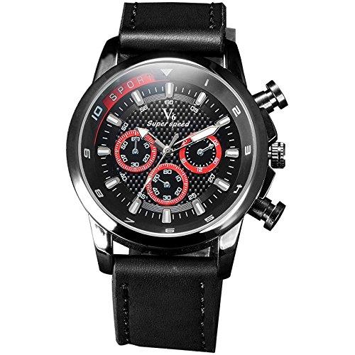 New einfallendes V6 rejoles Luxus Marke Military Man Armbanduhr Sport Herren Uhren rot