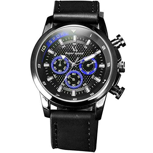 New einfallendes V6 rejoles Luxus Marke Military Man Armbanduhr Sport Herren Uhren blau