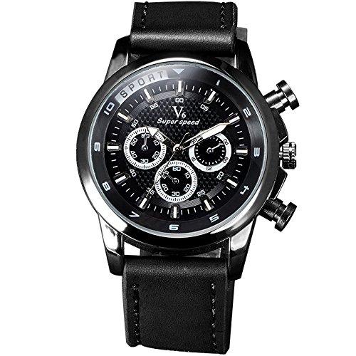 New einfallendes V6 rejoles Luxus Marke Military Man Armbanduhr Sport Herren Uhren Schwarz