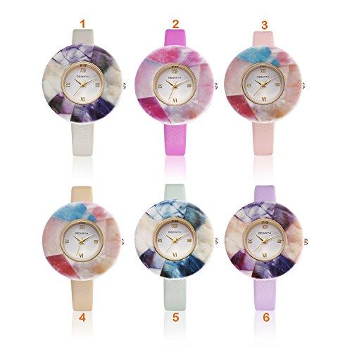 Nachahmung Keramik Armbanduhren Frauen Fashion Quarz Uhren