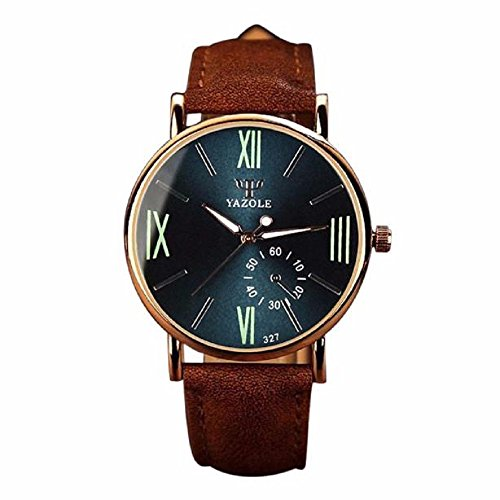 Armbanduhr WINWINTOM Luxury Fashion Wristwatch Noctilucent Mens Glass Quartz Analog Watches