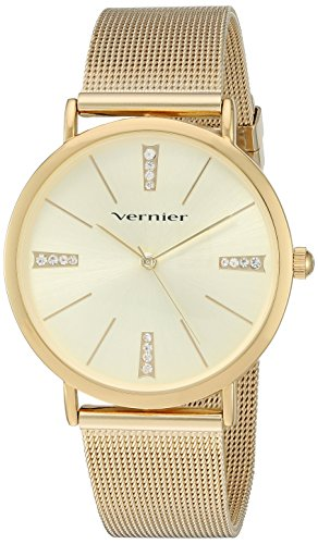 Vernier Damen Metall und Legierung Quarz Kleid Uhr Farbe goldfarbenem Modell vnr11200yg