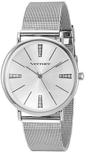 Vernier Damen Metall und Legierung Quarz Kleid Uhr Farbe silberfarbene Modell vnr11200ss