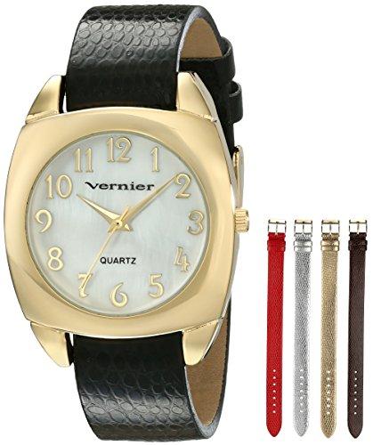 Vernier Damen vnr11120yg Analog Display Armbanduhr Japanische Mehrfarbig Quarz Set