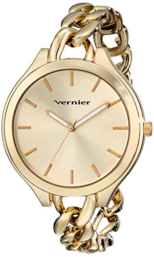 Vernier Damen vnr11181yg Analog Display Japanisches Quartz Gold Watch