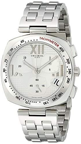 Charriol Alexandre Herren 40mm Chronograph Saphirglas Datum Uhr ALC960001