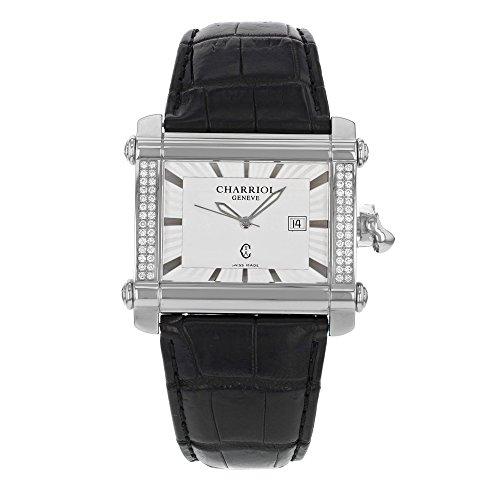 Charriol Schauspieler cchxld 791 hx001 Stahl und Diamanten Quarz Damen Armbanduhr