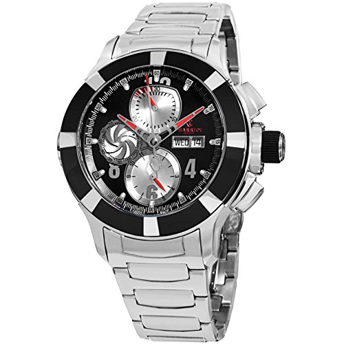 Charriol Supersports Herren 46mm Chronograph Automatikwerk Uhr C46AB 930 002