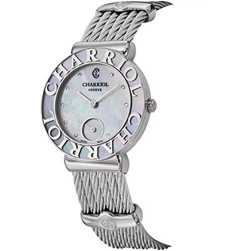 Charriol St-tropez Damen 30mm Saphirglas Uhr ST30SC560019
