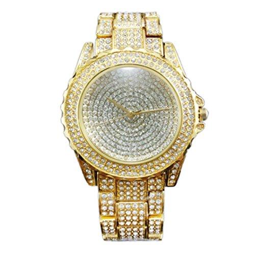Frauen sagen Armbanduhr Xjp Mode Strass Keramik Kristall Quarz Uhren