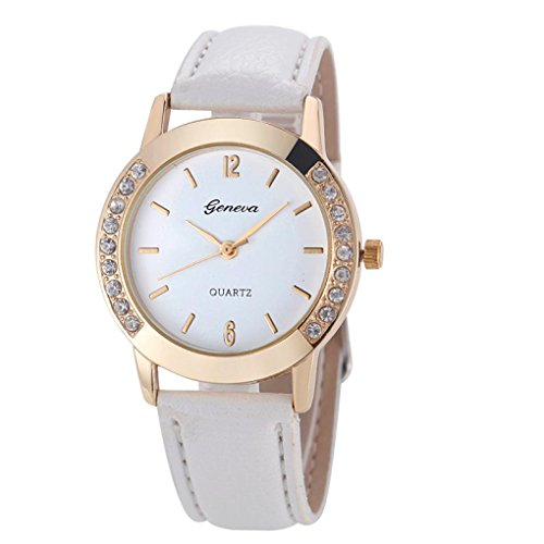 Armbanduhren fuer Frauen Xjp Womens Wristwatches with Analog Quartz Faux Leather Strap