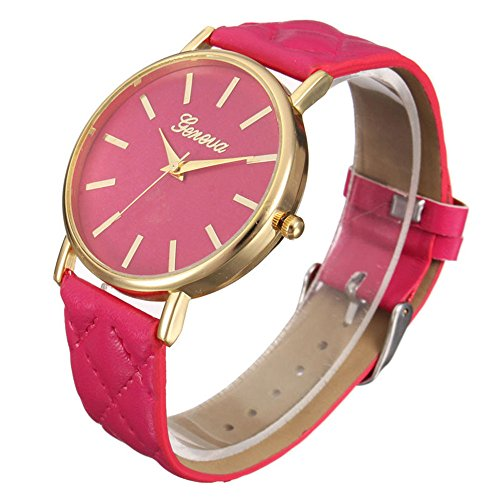 Armbanduhren fuer Damen Xjp Casual Womens Watches with Analog Quartz and Leather Strap