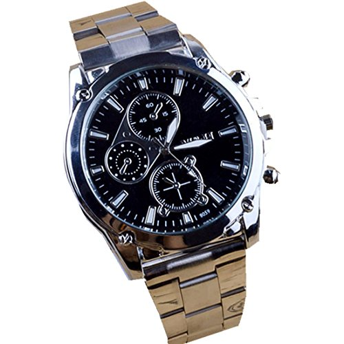 Mens Business Wristwatches Xjp Machinery Quartz Watch with Stainless Steel Band