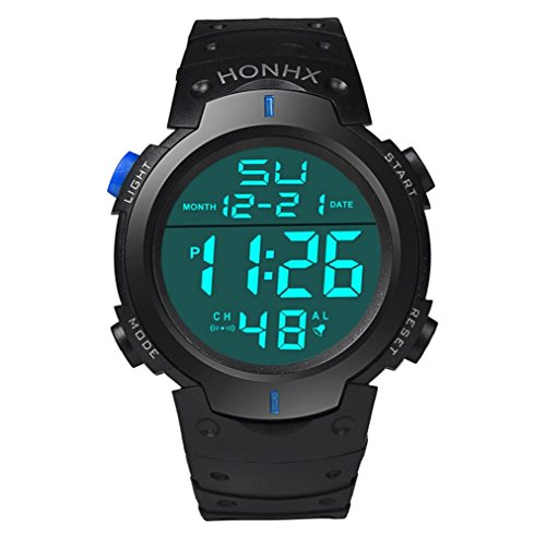 Digital Sports Watches Xjp Fashion Waterproof Stopwatch Date Mens Wristwatches
