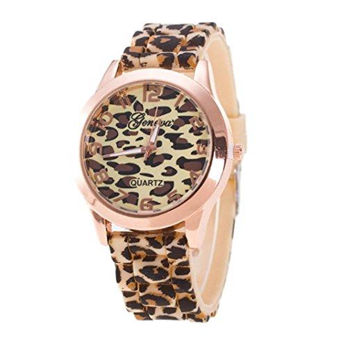 Uhren Geschenke Xjp Casual Quartz Analoge Armbanduhr mit Lederarmband fuer Maenner und Frauen