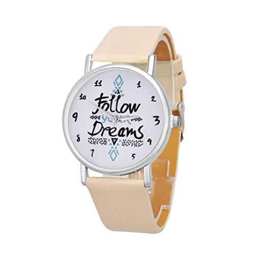 Womens Watches Bracelet Xjp Casual Simple Dial Alloy Quartz Wristwatches Leather Strap