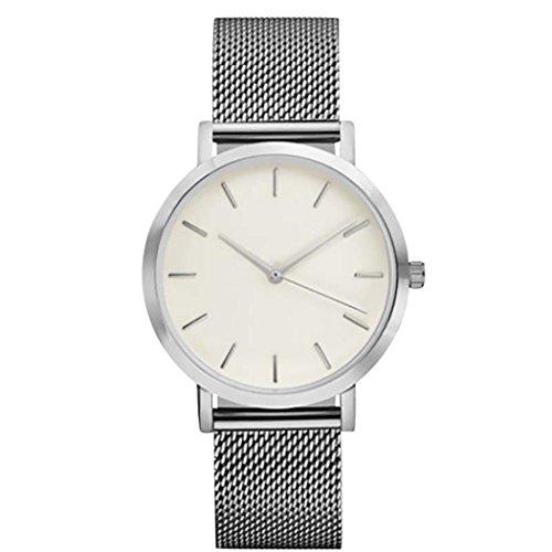 Wrist Watches for Female Xjp Casual Stainless Steel Analog Quartz Womens Watch Bracelet