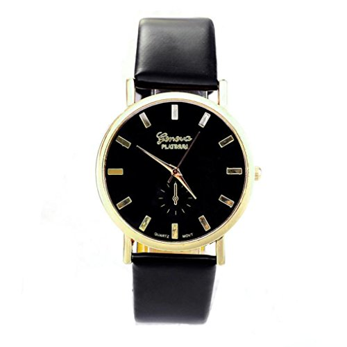 Womens Watches Xjp Analog Quartz Wristwatch with Leather Band for Ladies