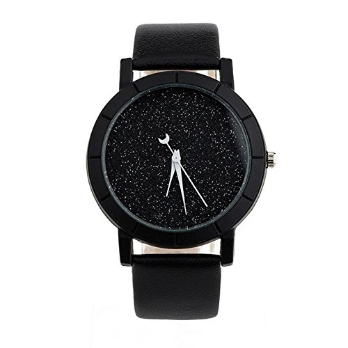 Womens Wristwatch Xjp Minimalist Casual Watches Leather Strap for Lovers