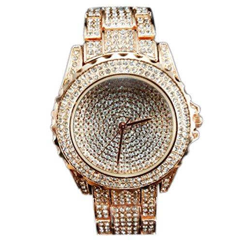 Womens Wristwatch Xjp Rhinestone Ceramic Crystal Quartz Watches