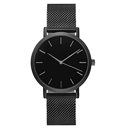 Wristwatches for Ladies Xjp Casual Stainless Steel Analog Quartz Womens Watch Bracelet