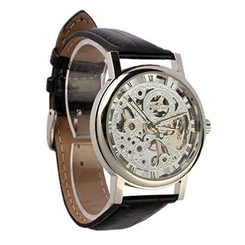 Mens Watches Xjp Sport Automatic Watch Self winding Skeleton Mechanical Wristwatches