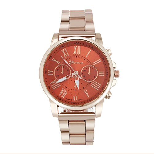 Watch for Men and Women Xjp Casual Roman Numerals Quartz Analoge Stainless Steel Wristwatches