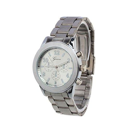 Xjp Damen Uhren Edelstahl Analog Quarz Armbanduhren