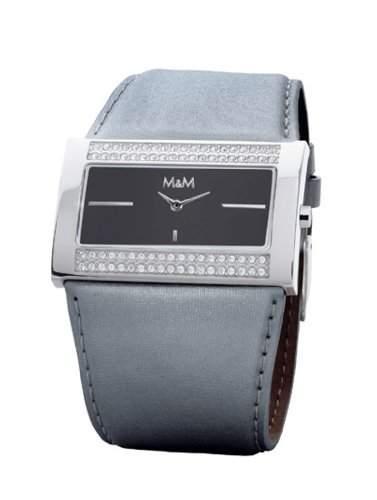 M&M Damenarmbanduhr Glamtime M11613-999