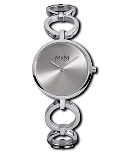 M&M Damenuhr Edelstahl M11913-149 Circle 159