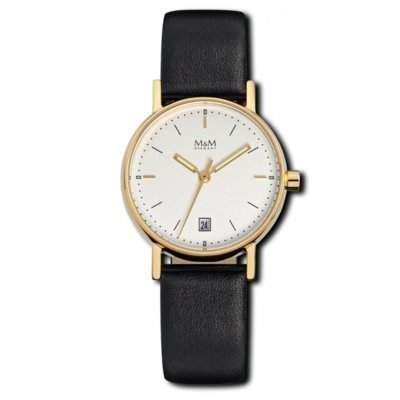 Mini Basic - Uhr - goldfarbenschwarz