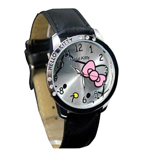 New Lovely Fashion Hello Kitty watches Girls Uhren M dchen Ladies Wrist Watch WKT KTW985B
