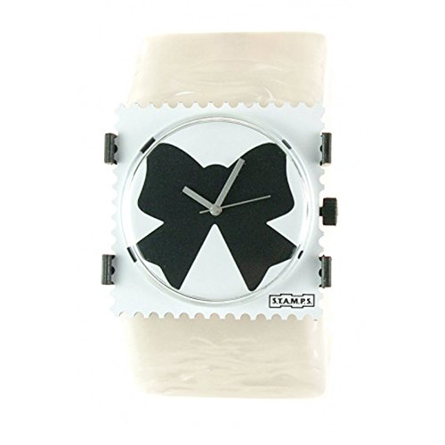 S T A M P S Armband Belta Pearl White
