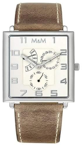 M&M Herrenarmbanduhr Unlimited Multifunction M11702-523