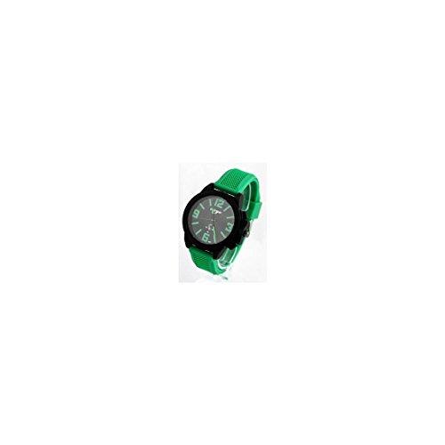 Armbanduhr Silikon gruen BIGONE 514