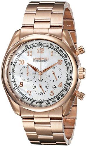 Orefici Unisex orw16 C4209br Analog Armbanduhr Display Rose Necklaces Halskette Quarz