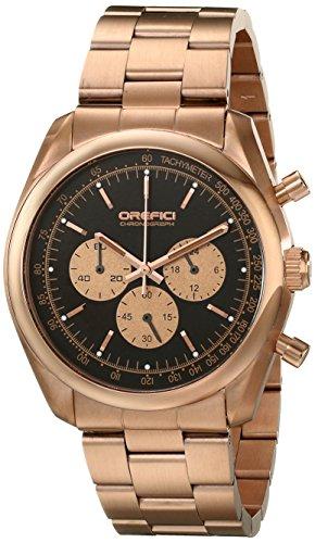 Orefici Unisex orm16 C4206br Analog Display Quarz Rose Gold Watch
