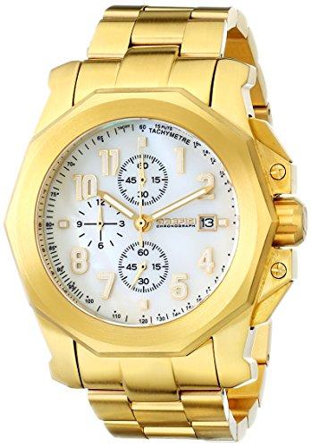 Orefici Unisex orm6 C4406br Analog Display Quarz Gold Armbanduhr