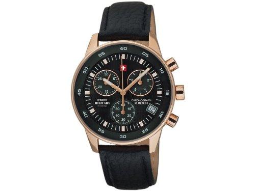 Swiss Military Herren Armbanduhr Chronograph 17700RPL 1L