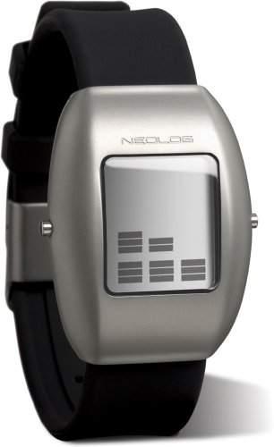 Neolog Unisex-Armbanduhr A-24 II Mirror Digital Quarz 85300035