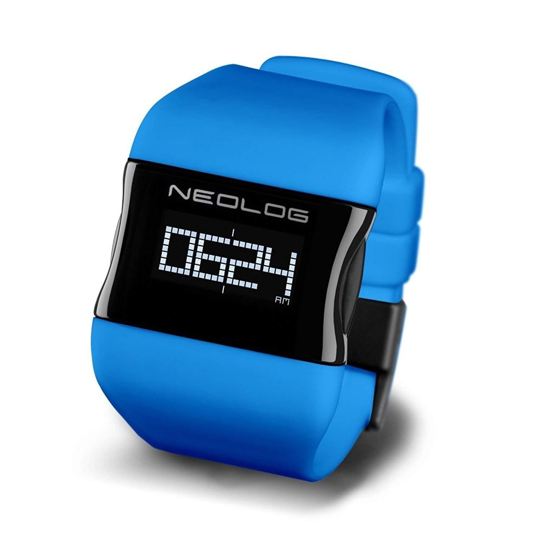 Neolog Unisex-Armbanduhr OS Sky Blue OLED Digital Quarz