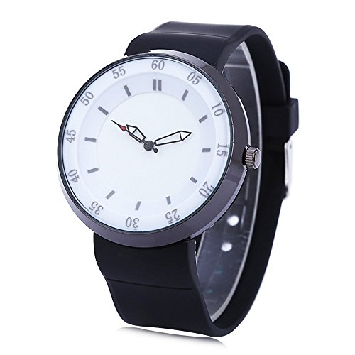 Leopard Shop xinew 2138 Herren Wasser Widerstand Analog Display Armbanduhr Weiss