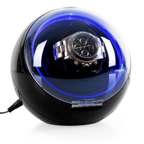 Klarstein St Gallen Deux Uhrenbeweger Uhrenkasten mit LED Beleuchtung